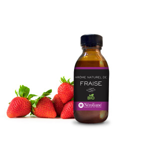 Strawberry Organic Flavouring - non-alcoholic -
