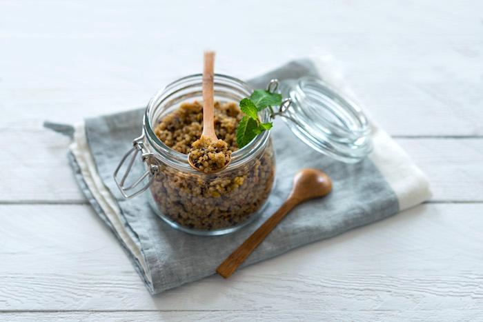 Taboulé de quinoa au arômes de citron, menthe et agrumes