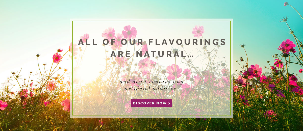 All our flavouring are natural - Néroliane